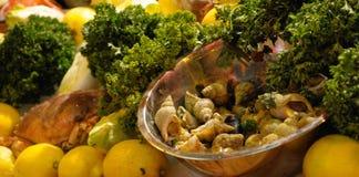 食物海运 库存图片