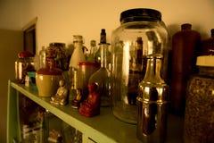 食物瓶子 库存图片