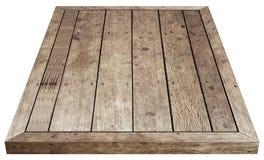 食物的木桌布朗 库存照片