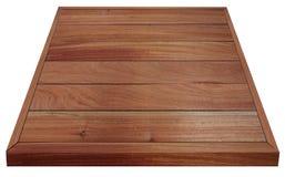 食物的木桌布朗 免版税库存图片