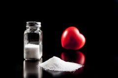 食物的盐 图库摄影