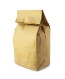 食物的纸袋 免版税库存图片