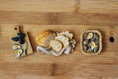 食物磁铁 图库摄影
