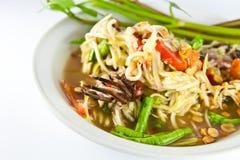 食物索马里兰泰国胃 免版税库存照片