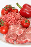 食物红色 库存图片