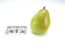 食物结果实健康营养梨 免版税库存照片