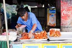 食物街道泰国 图库摄影