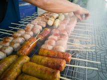 食物街道泰国 免版税库存照片