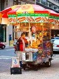 食物街道 免版税库存照片