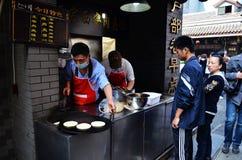 食物街道 库存照片