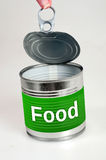 食物词 免版税图库摄影