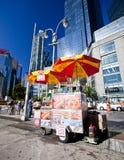 食物购物车 免版税库存图片