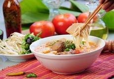 食物越南语 库存照片