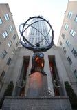 食物雕塑被提出在第26每年NYC Canstruction竞争在Brookfield地方在纽约 库存照片