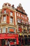 食物霍尔和餐馆中央伦敦英国 免版税库存照片