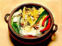 食物韩文 免版税库存图片