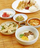 食物韩文 免版税库存照片