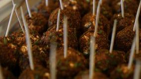 食物饺子 素食食物 股票录像