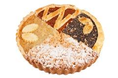 食物饼 免版税库存照片