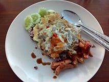 食物鸡蛋 图库摄影