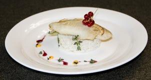 食物,鳕鱼,米,准备了,钓鱼,海鲜,内圆角,晚餐,菜,食家,颜色,切片,膳食,吃,健康,被盘问,肉, 免版税图库摄影