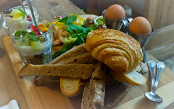 食物:早午餐 图库摄影