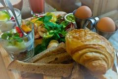 食物:早午餐 免版税库存图片