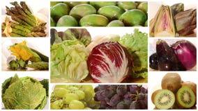 食物绿色健康红色