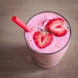 食物 草莓圆滑的人 库存照片