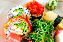 食物janpanese寿司 免版税库存照片