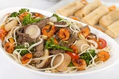 食物Mein 库存图片