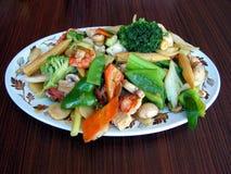 食物mein 免版税库存图片