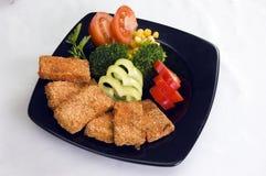素食食物。 免版税库存图片