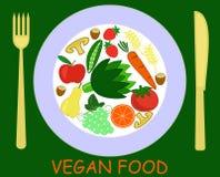 素食食物 免版税图库摄影