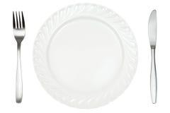 餐位餐具 库存照片