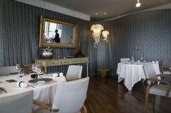餐厅,马赛,法国 免版税库存图片