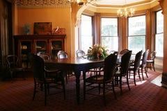 餐厅维多利亚女王时代的著名人物 免版税库存照片