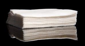餐巾堆 免版税库存图片