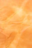 餐巾橙色纸纹理 库存图片