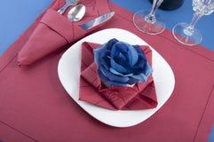 餐巾origami 免版税库存照片