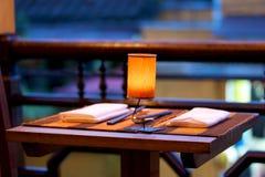 餐桌 图库摄影