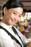 餐馆人员 免版税库存图片