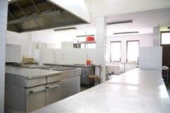 餐馆厨房 免版税图库摄影