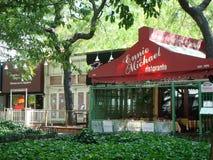 餐馆在伦敦苏豪区,纽约 免版税库存图片
