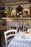 餐馆在卢布尔雅那 图库摄影