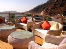 餐馆在喜马拉雅山 免版税库存图片
