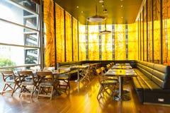 餐馆在泰国旅馆里 图库摄影