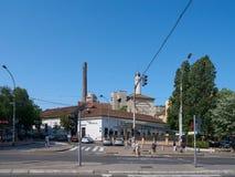 餐馆在贝尔格莱德 免版税库存图片