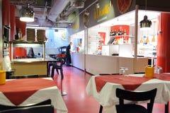 餐馆在赫尔辛基 免版税库存照片