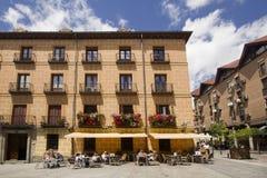 餐馆在马德里,西班牙 库存照片